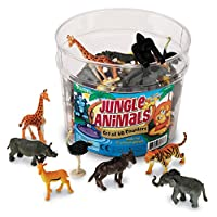 Learning Resources 丛林动物 60 只套装