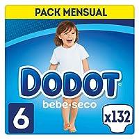 Dodot Bebé – 尿布,132片,尺寸 6