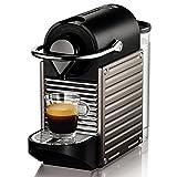 Krups XN 3005 Nespresso Pixie胶囊咖啡机 (19 bar, 温控加热系统) 电动,钛材质