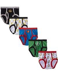 Handcraft 男童正义联盟标志三角内裤 5 件套,各式,