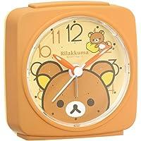 SEIKO CLOCK (セイコークロック) 目覚まし時計 リラックマ アナログ 茶 CQ153B