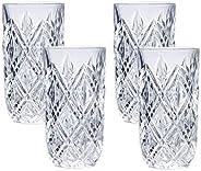 Mikasa Claremont 高球玻璃,12 盎司,精致水晶,4 件套
