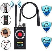 防间谍探测器,射频探测器和相机探测器,防间谍隐藏相机昆虫扫器 GPS 音频间谍扫描器 无线电无线信号电子追踪器 美国插头。