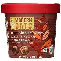 现代燕麦巧克力色樱桃 oatmeal 4盎司12支装 gluten 免费出品非转*整粒面皮革 vegan 以及犹太包含 Tree 螺母