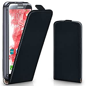 FLIP 手机壳适用于 Galaxy Note 2 DEEP-BLACK