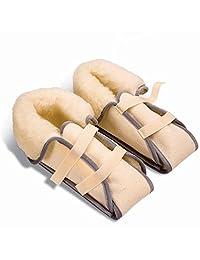 NRS Healthcare 羊毛脚保护靴,带羊毛 - 一对