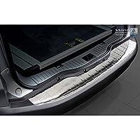 AUTOSTYLE 2/35208 不锈钢后保险杠保护器,银色