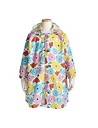 曲棍球 儿童用 雨衣 花园 共3种颜色 共3种尺寸 童装 粉色 附带收纳包 粉色 110 83172
