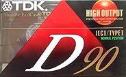 TDK 音频盒子 - D90 IEC I/Type I 高输出 - 90 分钟(7 个装)