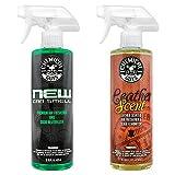 Chemical Guys AIR300新车气味及皮革气味消除组合包 16盎司(2件)
