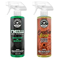 Chemical Guys AIR300新车气味及皮革气味消除组合包 16盎司(2件)(亚马逊进口直采,美国品牌)