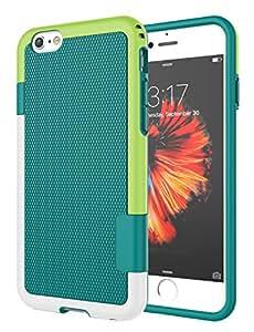 iPhone 6S Plus 手机壳,iPhone 6 Plus 手机壳,绝缘减震硬质塑料外层 + 橡胶硅胶内部防刮防撞坚固硬壳保护套适用于 iPhone 6/6S Plus4326863812 绿色