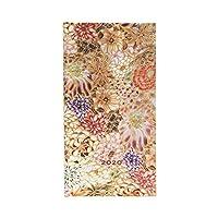 Paperblanks 12 个月日历 2020 Kikka | 水平 | 细长(95 × 180 毫米)