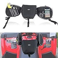 MFC 黑色马鞍包储物整理箱箱箱包前置配件储物包适合 ATV 雪地摩托车自行车