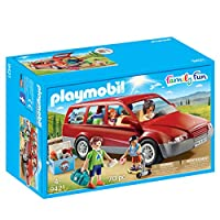 PLAYMOBIL 家庭汽车玩具