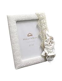 MERLETT ROSA.) 相框 白色 白色