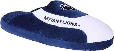 Happy Feet 男式和女式官方* NCAA 大学低帮专业拖鞋 Penn State 尼塔尼雄狮队 Small - Womens 5-7, Mens 4-6