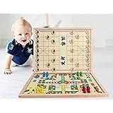 小皇帝 多功能中国象棋跳棋二合一棋 亲子互动桌游积木智力玩具 益智儿童玩具