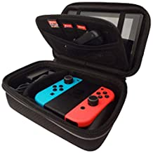 Subsonic Carry Case for Nintendo Switch - Protective Hard Portable Travel Carry Case  for Nintendo Switch Console & Accessories - All in one Armor case shell pouch.