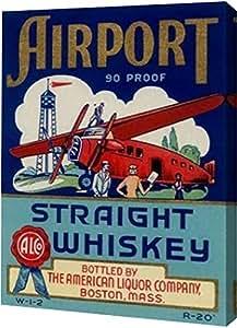 "PrintArt 机场直驱威士忌 18"" x 24"" GW-POD-64-376162-18x24"