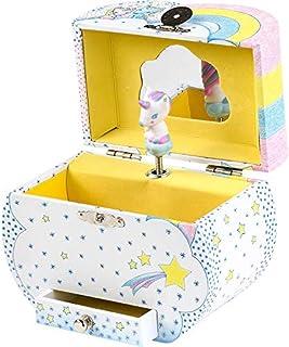 Djeco 独角兽首饰盒   法国设计,独角兽首饰盒   独角兽音乐盒