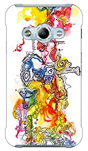 SECOND SKIN Mie 「Labyrinth」DSC01H-ABWH-193-K695 for Galaxy Active neo SC-01H/docomo