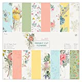 """Papermania 鲜切花 12 x 12"""" Paper Pack (Pack of 32) 32 x 34.8 x 0.8 cm 多种颜色"""