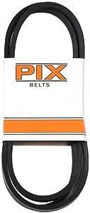 PIX NORTH TV222856 5/8x63 Blk Rubb V Kevlar V 形皮带