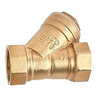MEDAS 美达斯 全铜加厚6分Y型过滤阀 过滤器 滤网 冷热水增压泵配件