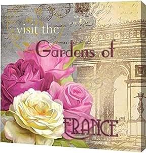 "PrintArt GW-POD-25-15364-20x20""Paris in the Spring II"" 由 Carol Robinson 画廊装裱艺术微喷油画艺术印刷品 20"" x 20"" GW-POD-25-15364-20x20"
