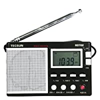 TECSUN 德生 R9702 高灵敏度全波段立体声收音机