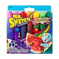Mr. Sketch 可洗水彩马克笔 尖头 多种颜色 14支装