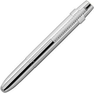 Fisher 太空笔 X-Mark 平盖镀铬空间笔带夹,礼品盒(400WCCL)