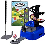 Franklin Sports 儿童高尔夫套装 - 带目标游戏的高尔夫
