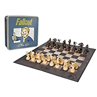 Fallout Chess Set Customized Collectable Pieces Figures Game USAopoly