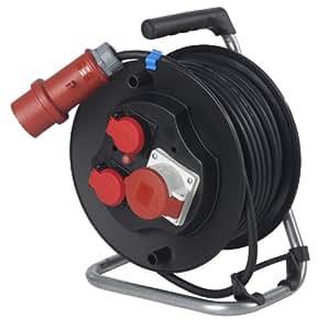as - Schwabe 10158 CEE *电缆鼓 20 米, H07RN-F 5G 2.5 / 输入 400 伏, 16 安培, IP44 工厂