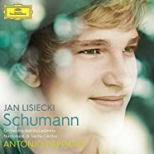 进口CD:舒曼作品:A小调钢琴协奏曲/爱之梦等/利谢兹基 Schumann:Piano Concerto in A minor/Jan Lisiecki(CD)4795327