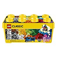 LEGO 乐高  拼插类 玩具  LEGO Classic 经典系列 经典创意中号积木盒 10696 4-99岁 积木