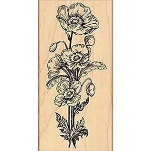 Penny Black Poppy Parade Decorative Stamp