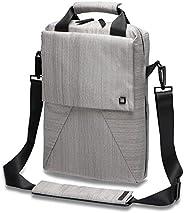 Dicota Code 单肩包适用于 13 英寸笔记本电脑 - 灰色