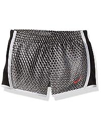 Nike 耐克女童速干短裙 白色/黑色 4