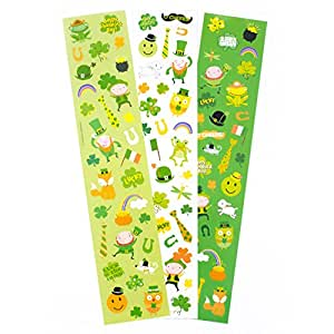 Hallmark 圣帕特里克节贴纸 (emojis) Yard of Stickers