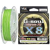 YGK線條 G-soul X8 UPGRADE 200m 2號