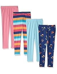 spotted Zebra 女童4件装打底裤