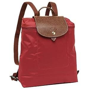 Longchamp 珑骧 女式 尼龙双肩折叠包 1699 089 545 红色 中号