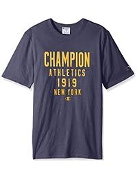 Champion Men Heritage S/S Slub Tee - Quarterback T1235 549522