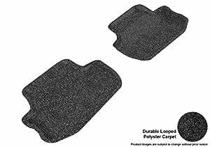 3D MAXpider 定制脚垫,适用于雪佛兰科迈罗车型 - 经典地毯 黑色 L1CH01722209