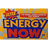 Energy Now 出品的 ULTRA ENERGY NOW GINSENG 草本补充剂 36 包