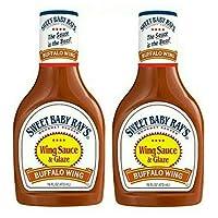 Sweet Baby Ray's Wing Sauce & Glaze Buffalo Wing 2 瓶装 美食