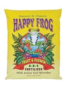 Hydrofarm FX14052 Happy Frog Fruit & Flower Fertilizer, 18-Lbs.
